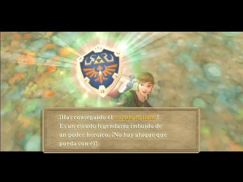 The Legend of Zelda: Skyward Sword | Escudo Hyliano