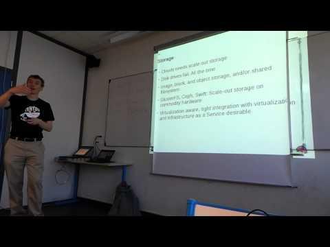 CentOS Dojo Lyon - Dave Neary - an opensource datacenter (French)