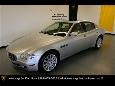 2006 Maserati Quattroporte Start Up, Exhaust, and In Depth Tour