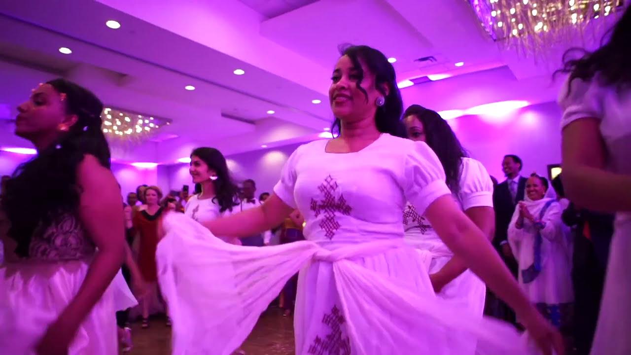 Ethiopian vs. Nigerian Wedding Dance Battle