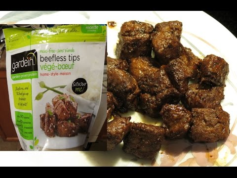 Product Review: Gardein Beefless tips (vegan!)