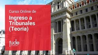 Ingreso a Tribunales | Curso Online
