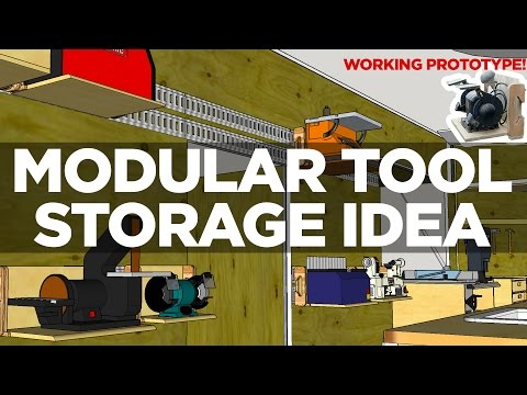 Prototyping a Modular Tool Storage Idea