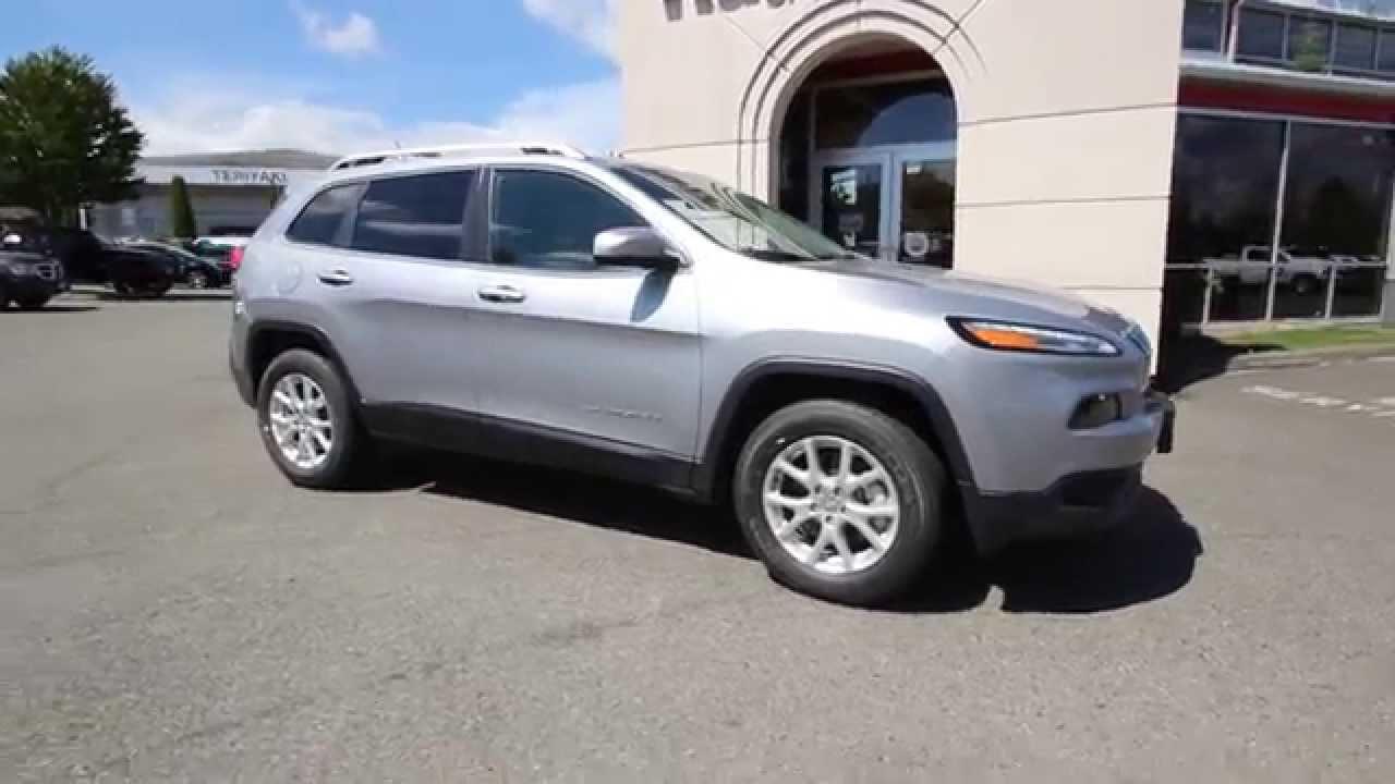 2014 jeep cherokee latitude | bullet silver | ew190164 | everett
