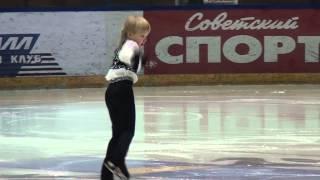 Видеосъемка  соревнований по фигурному катанию Ступников Данил, Бердск