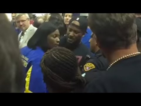 Draymond Green's Mom Gets into FIGHT with Cavs Fans