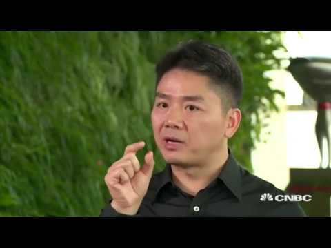 An interview with Liu Qiangdong from CNBC