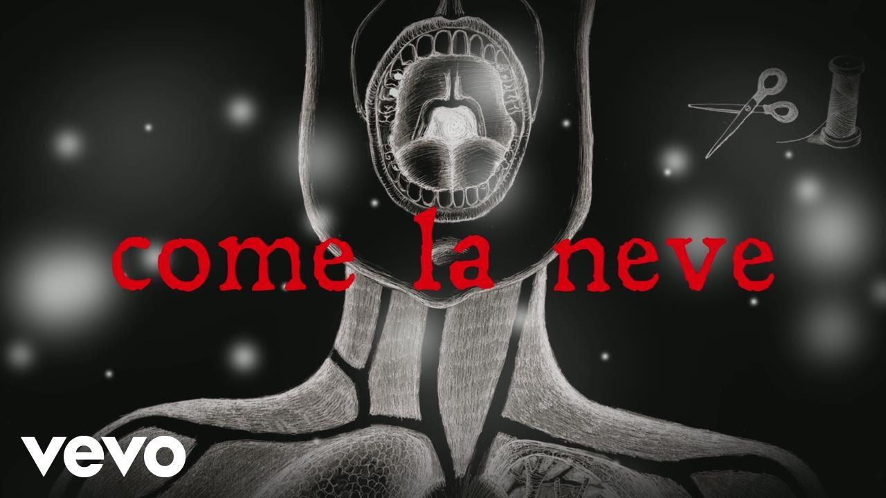 Boosta Come La Neve Feat Luca Carboni Lyric Video