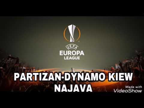 Najava Partizan-Dinamo Kijev