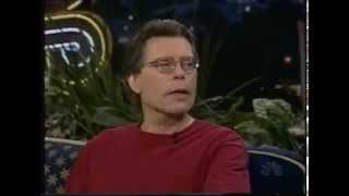 Интервью Стивена Кинга и Памелы Андерсон на шоу Джея Лено (1998)