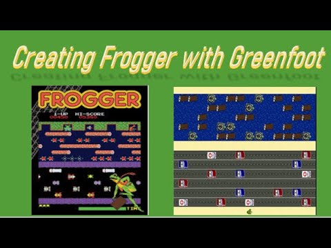 Creating Frogger Game Live With Greenfoot (2D Arrays And Designing A Map)