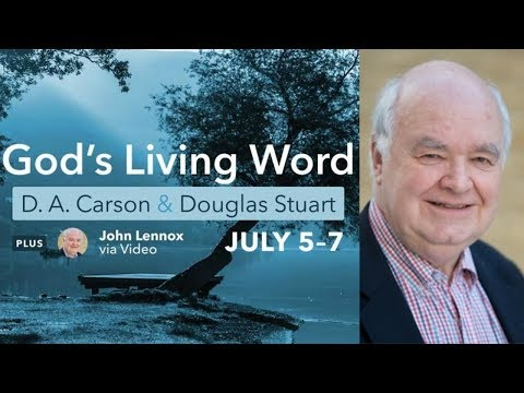 John Lennox: The Living Word and the Creation of the Universe at the 2017 Xenos Summer Institute