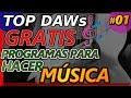 Mejores Programas para crear Música Electrónica GRATIS 2020, Daws producción masterización