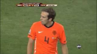 W杯2010・決勝:オランダvsスペイン戦 イニエスタ決勝ゴール