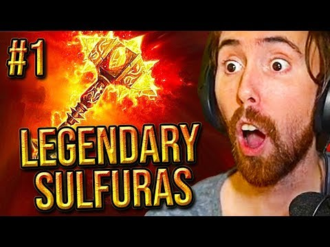 Asmongold SERVER FIRST Legendary SULFURAS Hand Of Ragnaros In Classic WoW