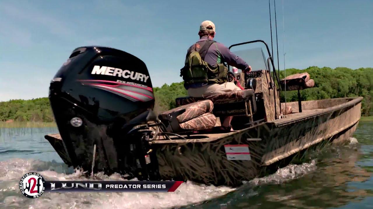 Aluminum Mod-V Hunting and Fishing Boats - Lund Predator Series