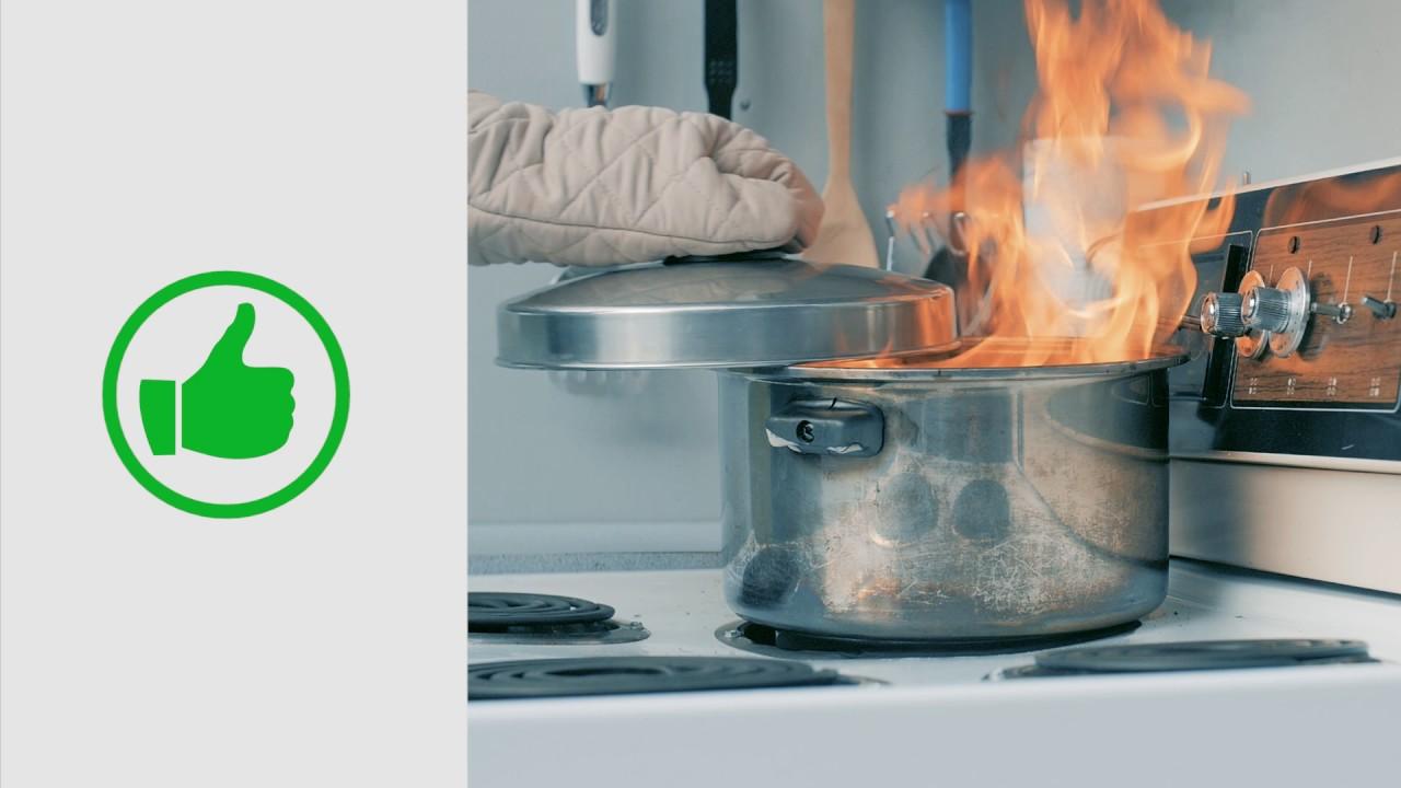 Incendie de cuisine comment r agir youtube for Video de cuisine youtube