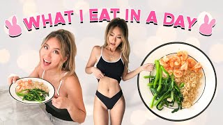 What I eat in a day | FLAT TUMMY healthy eating