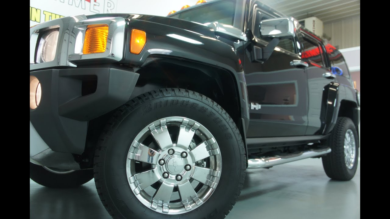 2009 Hummer H3 Luxury For Sale Loaded Two Tone Leather Moon Roof