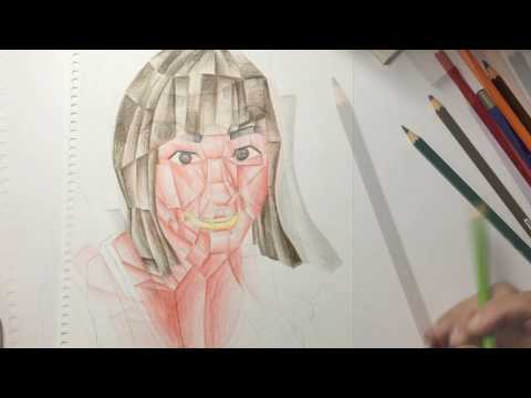 Creating a Cubist Self Portrait