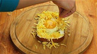 Бутерброд с яйцом - Рецепты от Со Вкусом