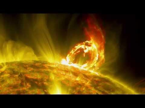 Cinq grandes éruptions solaires en cinq jours