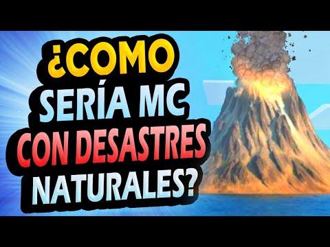 ¿Qué Pasaría si Minecraft Tuviera DESASTRES NATURALES?