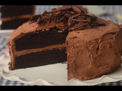 Devils Food Cake Recipe Demonstration - Joyofbaking.com