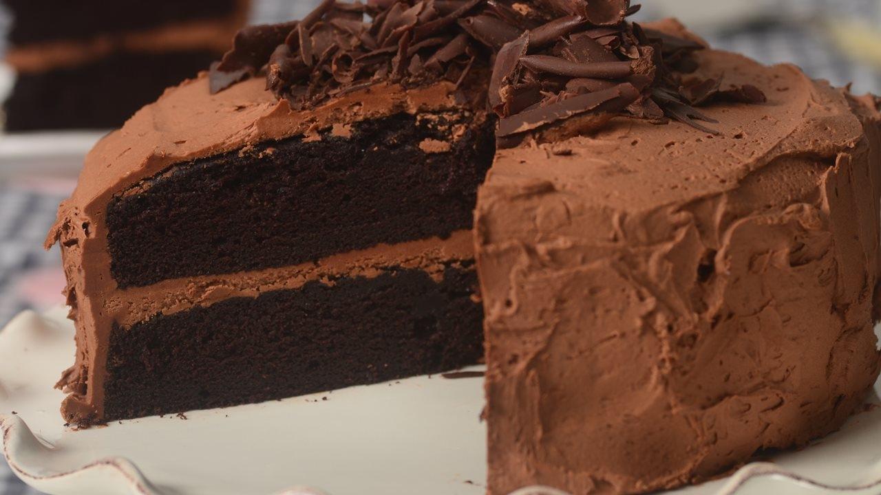 Devils Food Cake Recipe Demonstration Joyofbaking Youtube