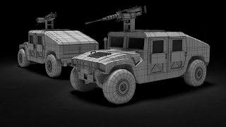 Modeling Humvee 3ds Max Tutorial Part 1
