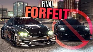 Need for Speed Payback Final Forfeit!!