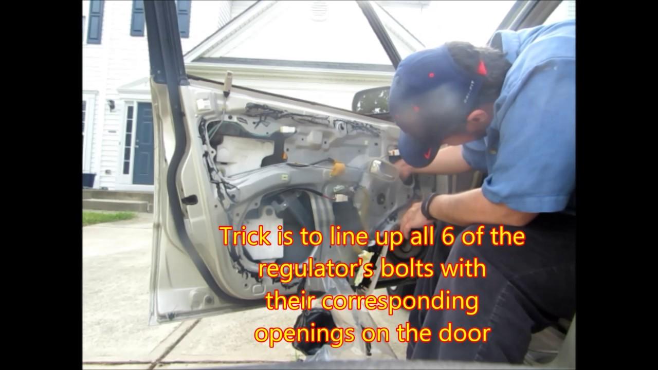 Mazda Protege Window Wiring