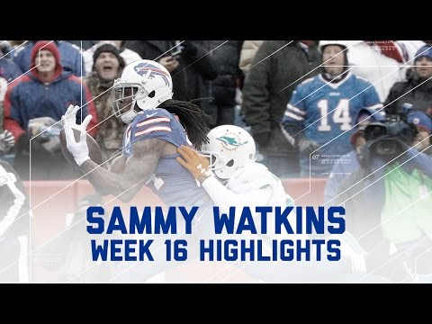 Sammy Watkins Snags 7 Catches, 154 Yards & 1 TD vs. Dolphins | NFL Week 16 Player Highlights