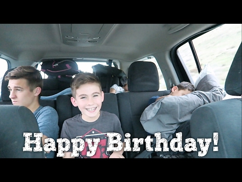 HAPPY BIRTHDAY ETHAN |TRIP DOWN MEMORY LANE | PHILLIPS FamBam Vlogs