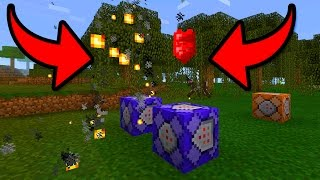 MCPE 1.0.5 NEW PARTICLES USING COMMAND BLOCKS in Minecraft Pocket Edition!!!