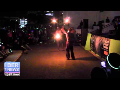 RockFire Bermuda At Earth Hour Celebrations, Mar 29 2014