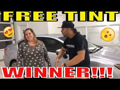 "Tinting Free Tint Raffle Winner ""JESSICA MOTA""   Subaru Legacy"