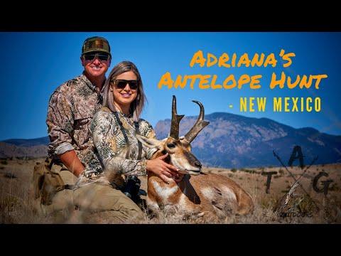 Adriana Antelope Hunt - New Mexico TAG Outdoors