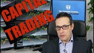 Quel est le capital que j'utilise dans mes vidéos de live trading ?