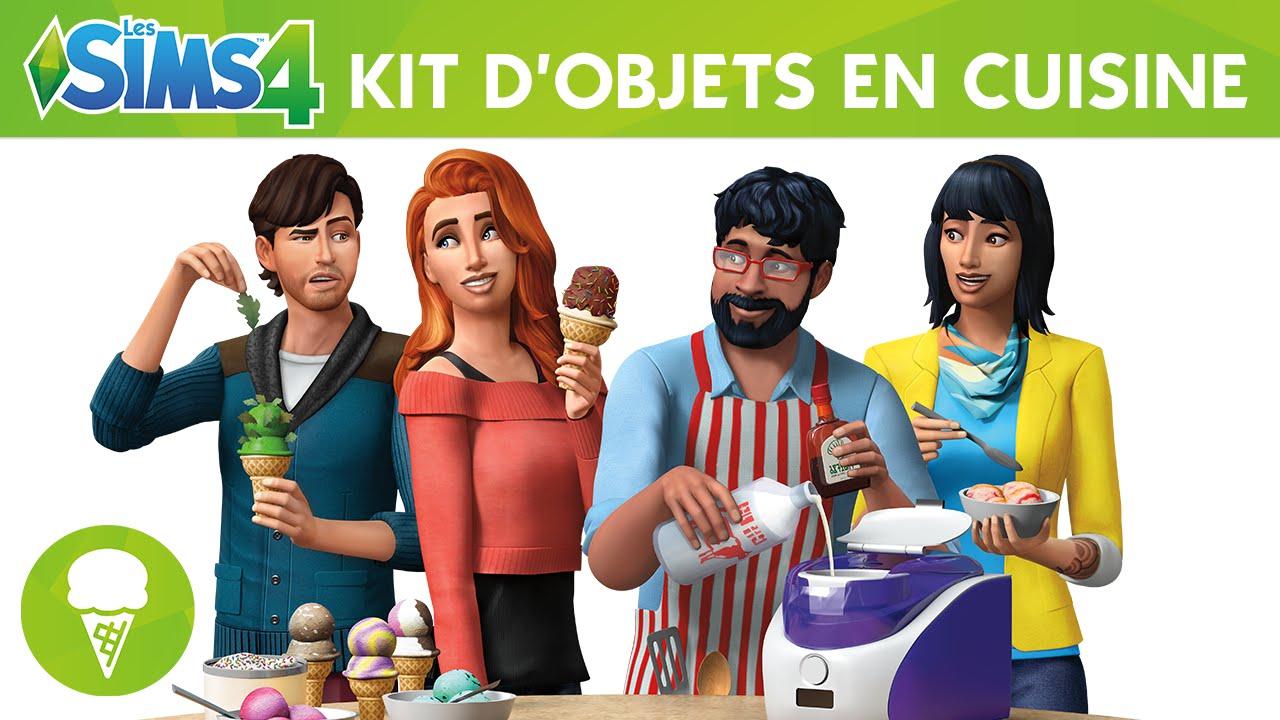 Les sims 4 en cuisine kit d 39 objets youtube - Objet de cuisine ...