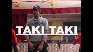 DJ Snake - Taki Taki ft. Selena Gomez, Cardi B, Ozuna - Dance Choreography by Vivek Vishwanathan