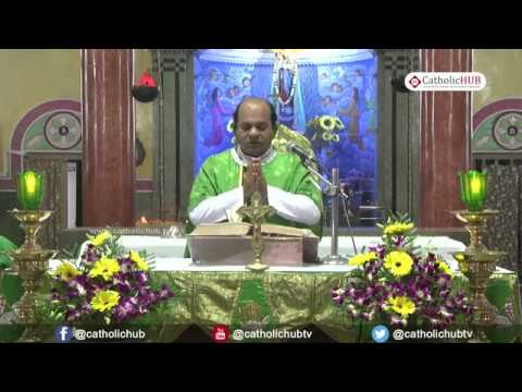English Mass @ Shrine of Our Lady of Good Health, Khairatabad, Hyd, TS, INDIA 27-11-17