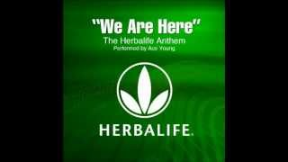 Ace Young- We Are Here (Herbalife Anthem) [English Remix]