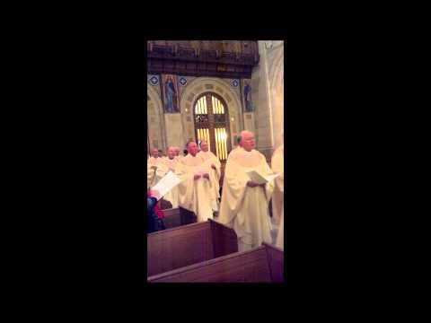 Bishop Blair Farewell Mass Entrance