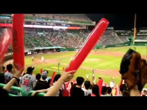 Lotte Giants vs SK Wyverns (July 30. 2017 Sun) at Munhak Baseball Stadium.