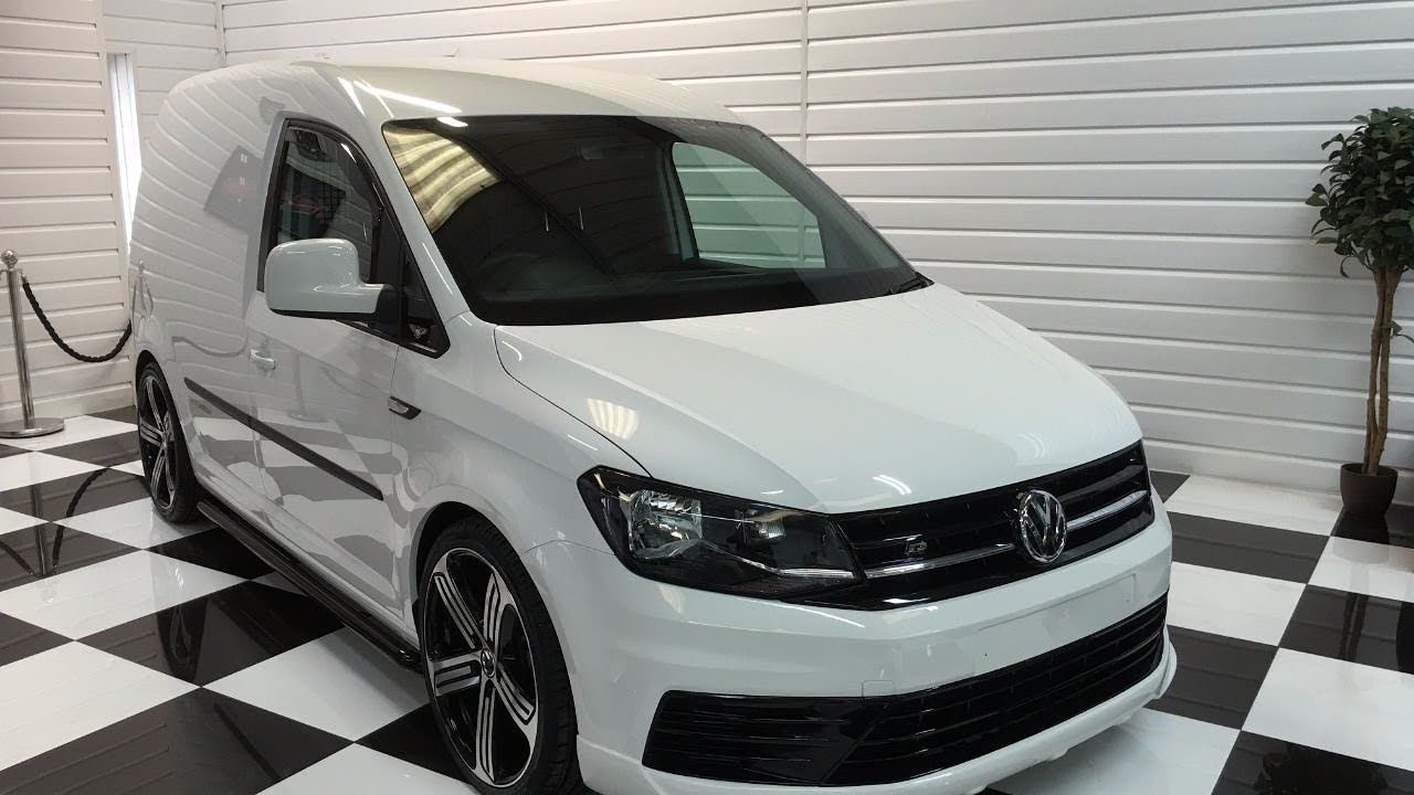 2016 16 volkswagen caddy 2 0 tdi bluemotion tech 39 r styling 39 youtube. Black Bedroom Furniture Sets. Home Design Ideas