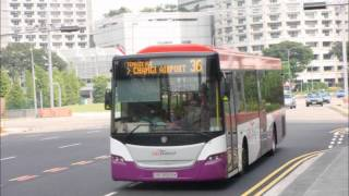 SBS Transit Scania K230UB EEV Gemilang Bodywork - KICKDOWN! SBS8565K on 36 [Audio Series]