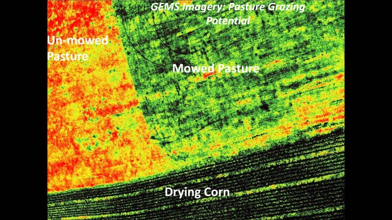 Gems Precision Agriculture Sensor For Uav Multispectral
