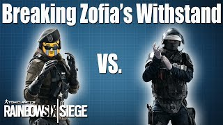 How to break Zofia & Self-Res comparison: Rainbow Six | Siege