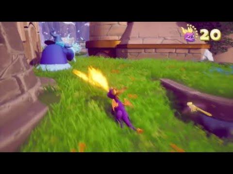 Spyro High Caves Hidden Painting Youtube